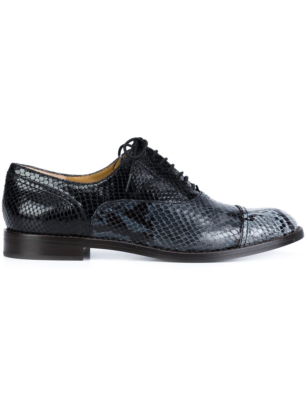 Marc Jacobs Clinton Oxford Shoes In Blue For Men Lyst