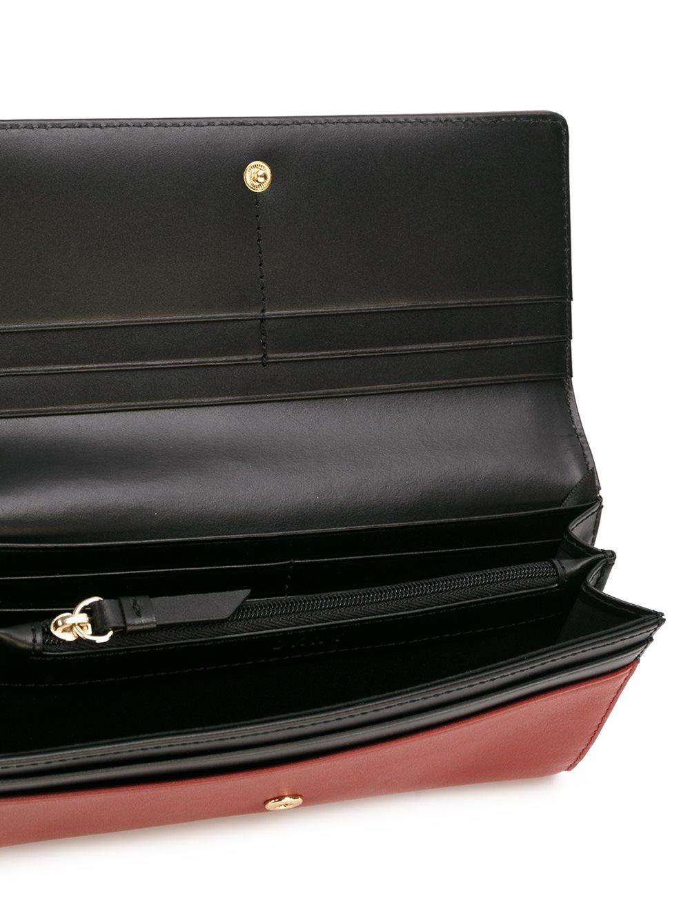 Lyst - Dkny Large Envelope Carryall Wallet in Gray |Dkny Wallet