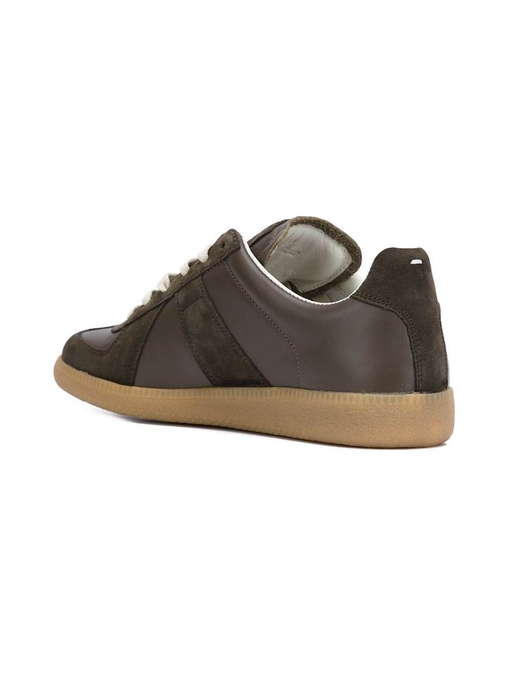 maison margiela 39 replica 39 sneakers in brown for men lyst. Black Bedroom Furniture Sets. Home Design Ideas