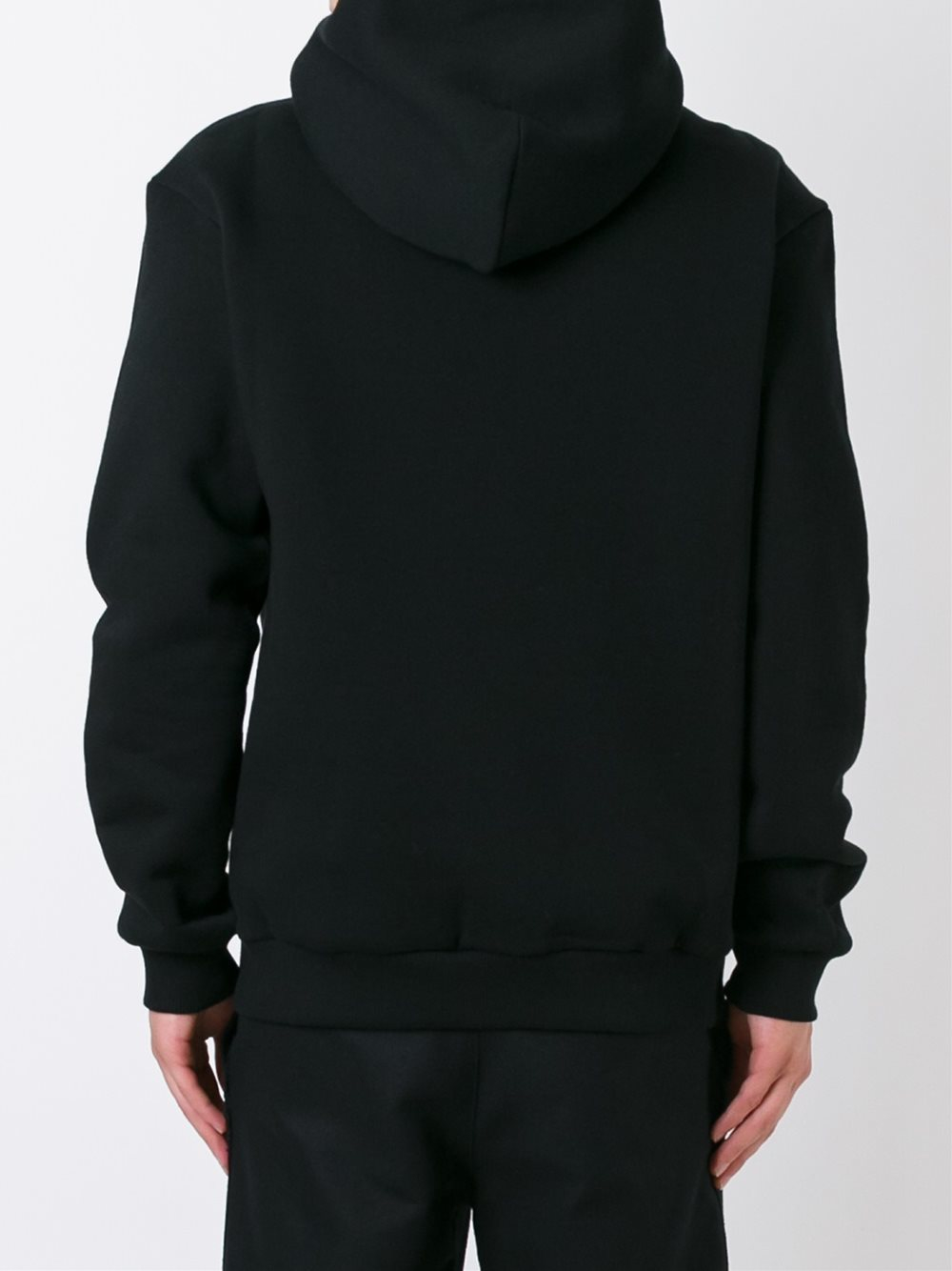 Dolce & Gabbana Cotton Crown And Rose Embroidered Patch Hoodie in Black for Men