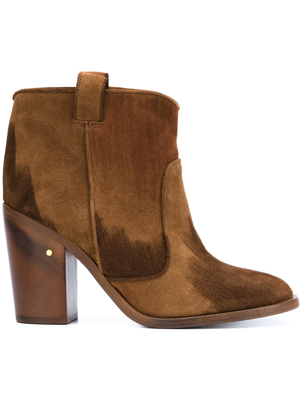 Laurence dacade Pete Suede Ankle Boots in Brown