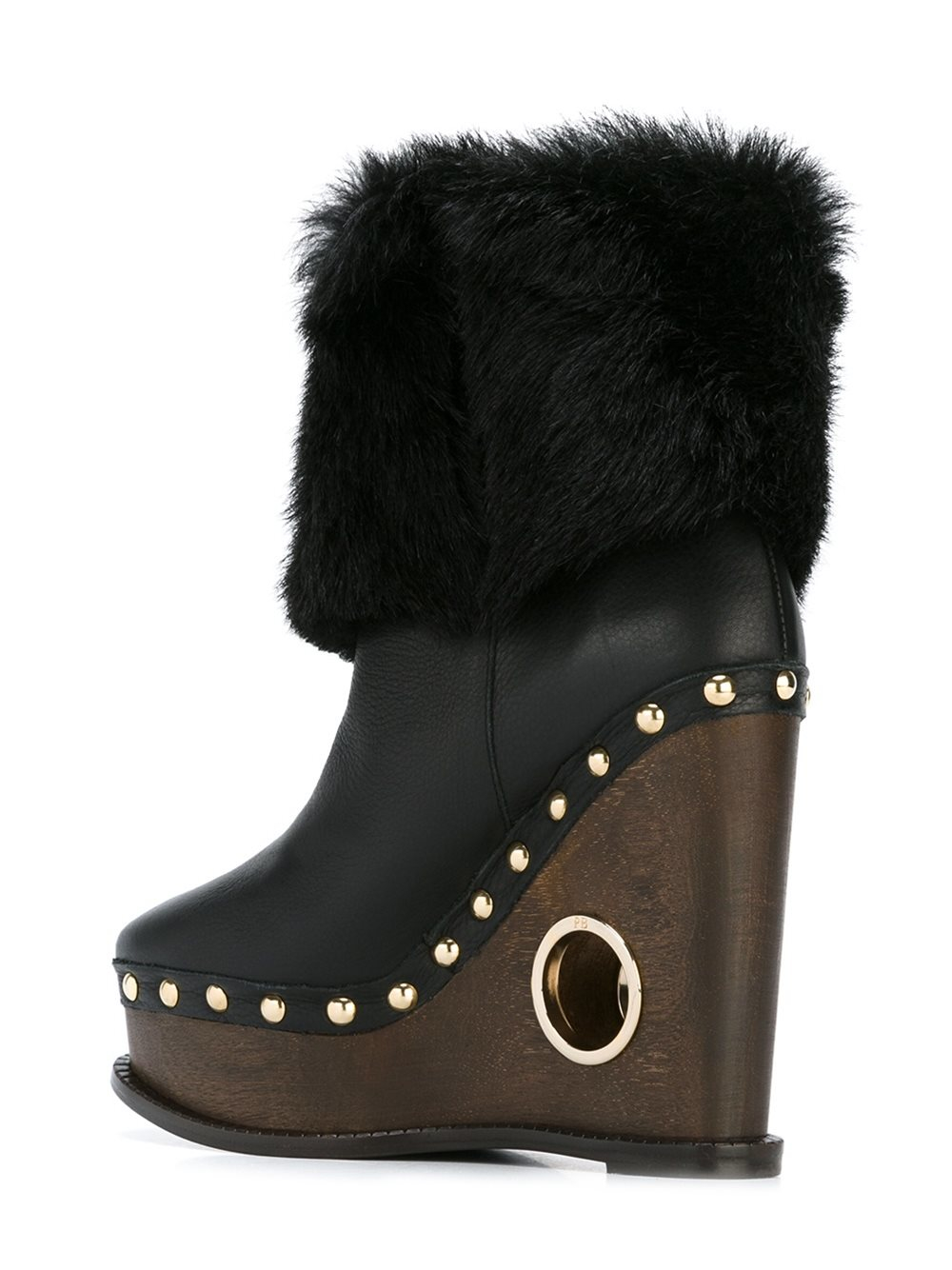 Paloma Barceló Leather Paloma Barceló 'valencia' Boots in Black