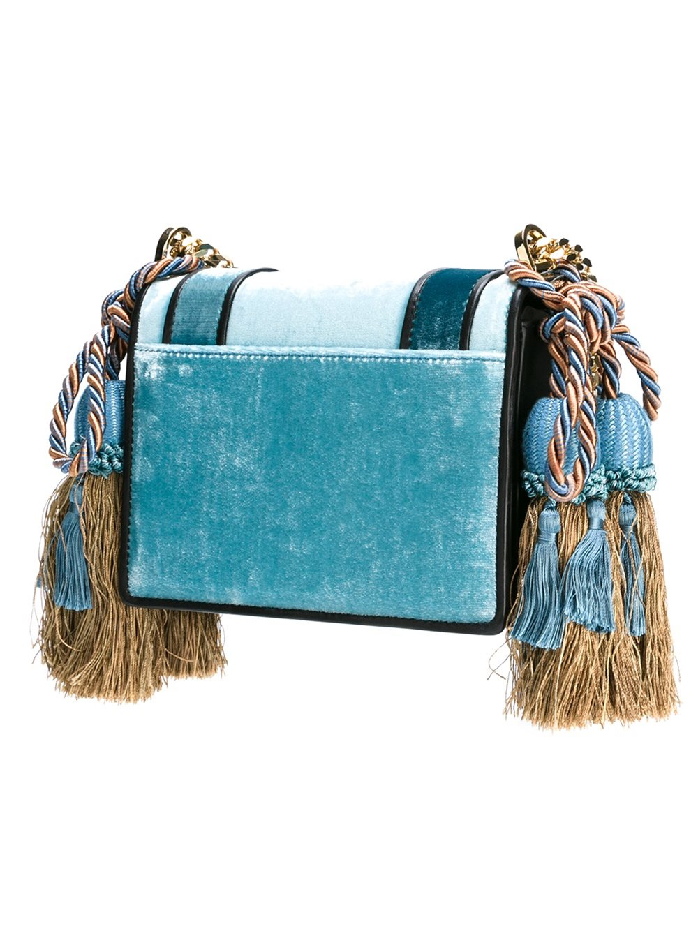 DSquared² Velvet Medium 'dd' Crossbody Bag in Blue