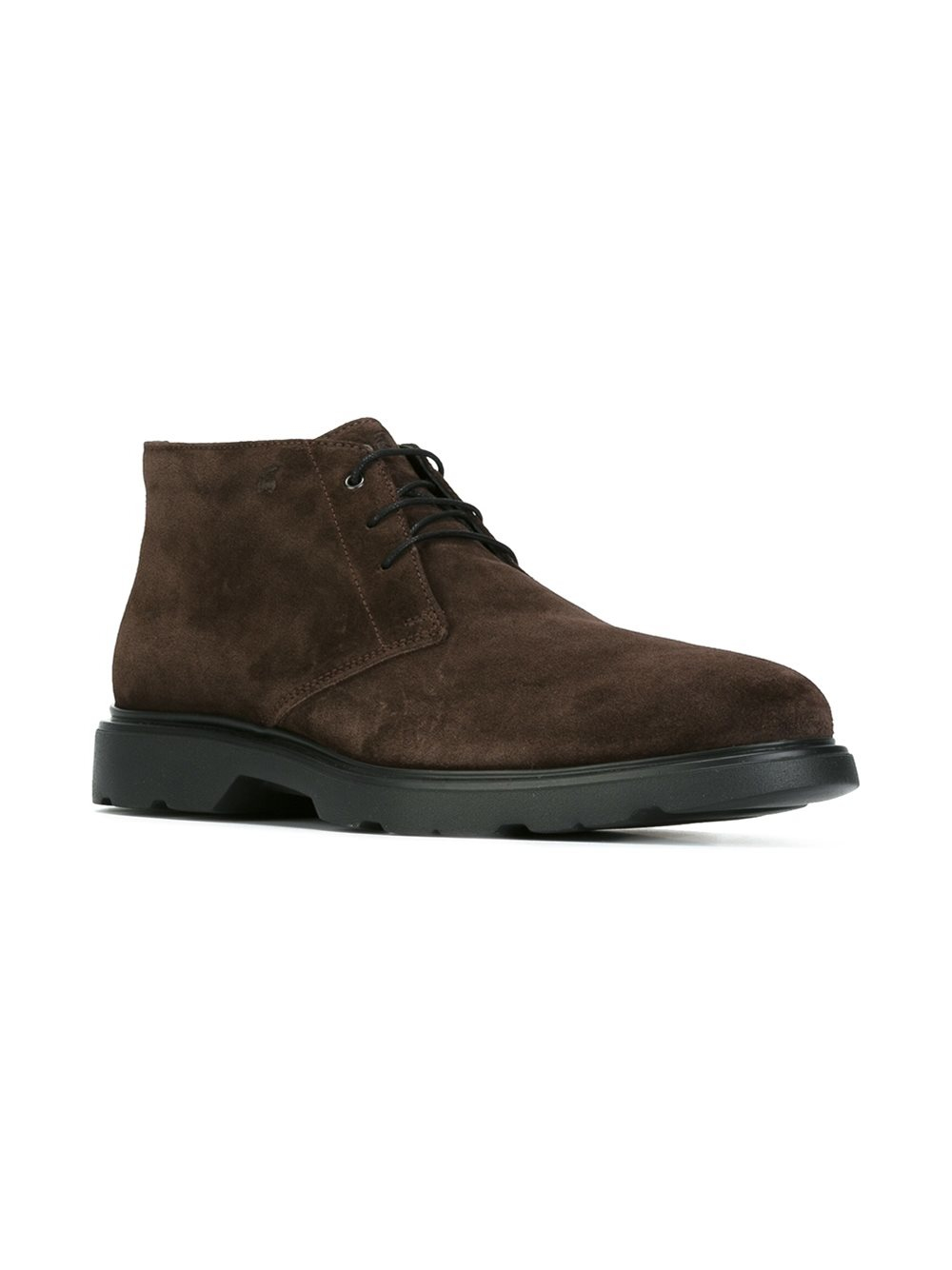 Hogan Route Ankle Boots In Brown For Men Lyst