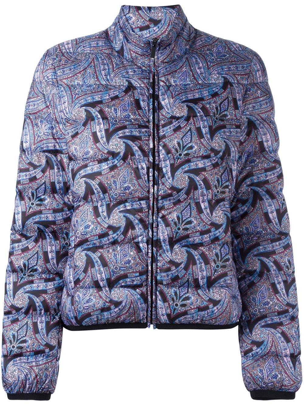 Lyst Etro Paisley Print Puffer Jacket