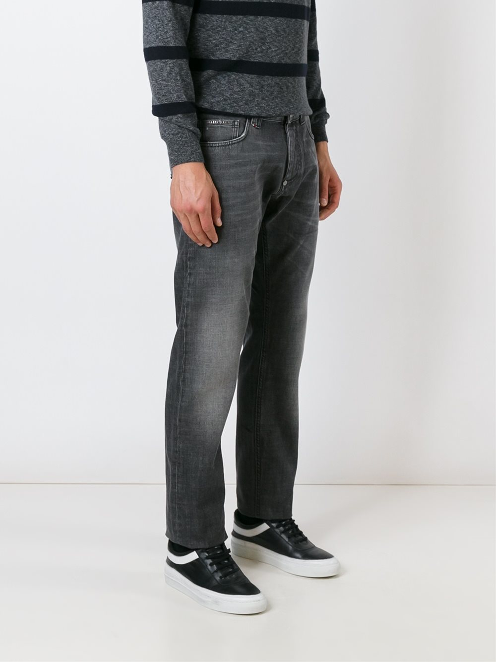Philipp Plein Denim 'portofino' Jeans in Grey (Grey) for Men