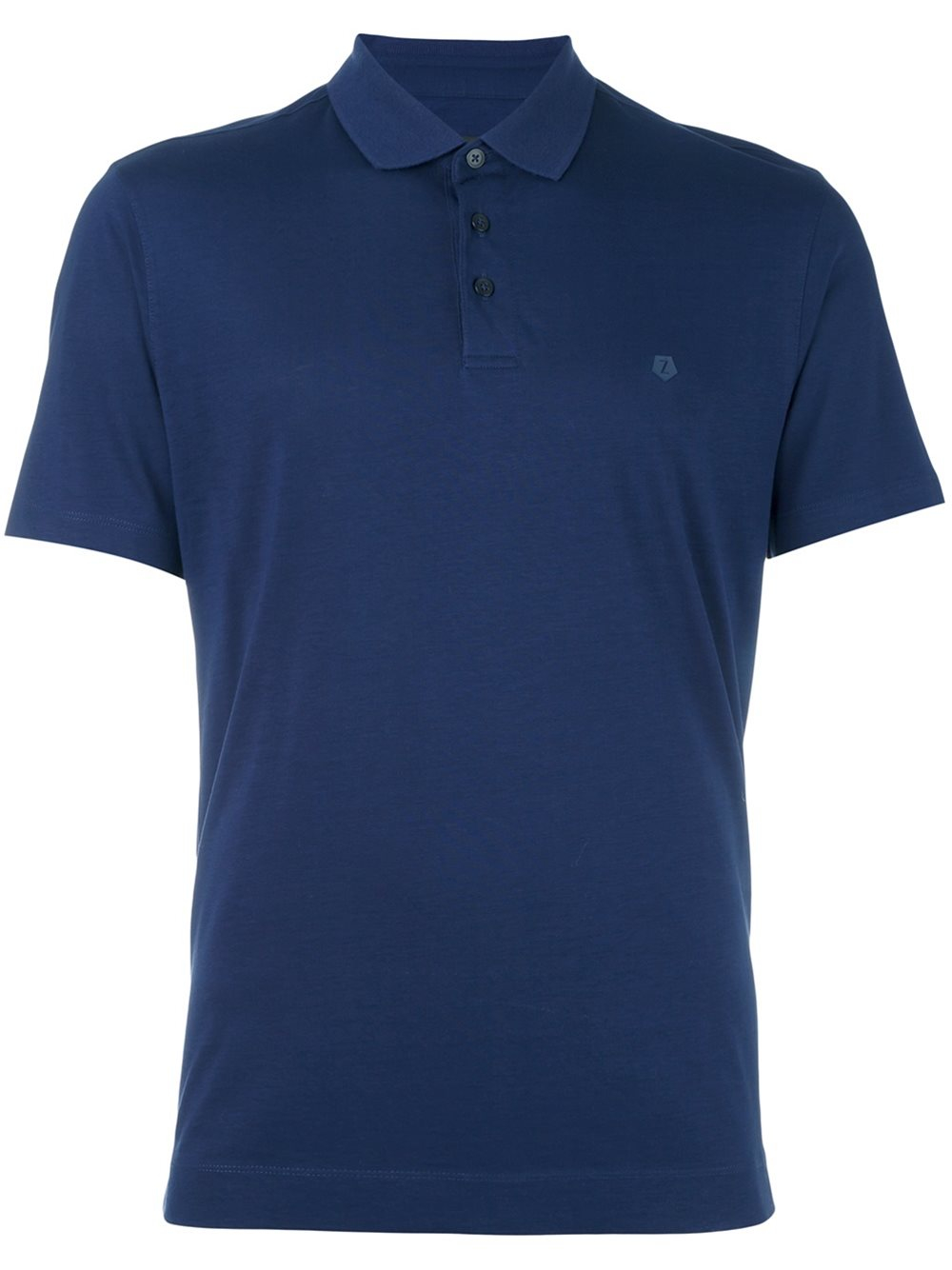 Z zegna classic polo shirt in blue for men lyst for Zegna polo shirts sale