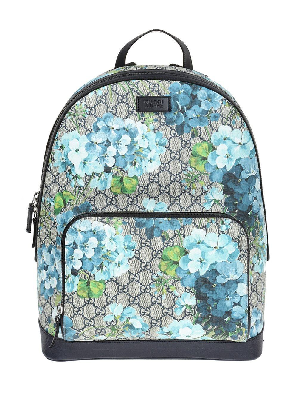 gucci gg blooms backpack lyst