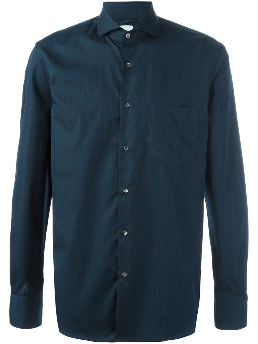 Aspesi classic button down shirt in blue for men lyst for Preppy button down shirts