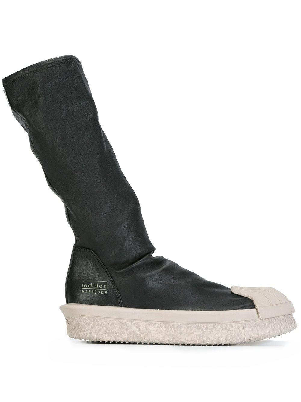 sock top boots rick owens x adidas sock hi top boots in black lyst