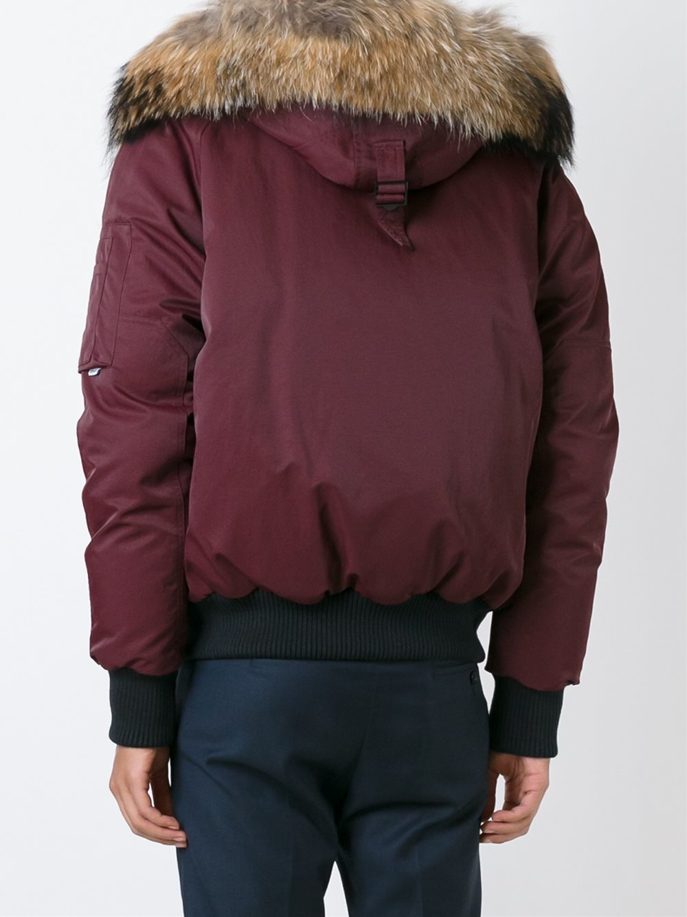 KENZO Synthetic 'tech' Puffer Jacket in Red (Blue) for Men