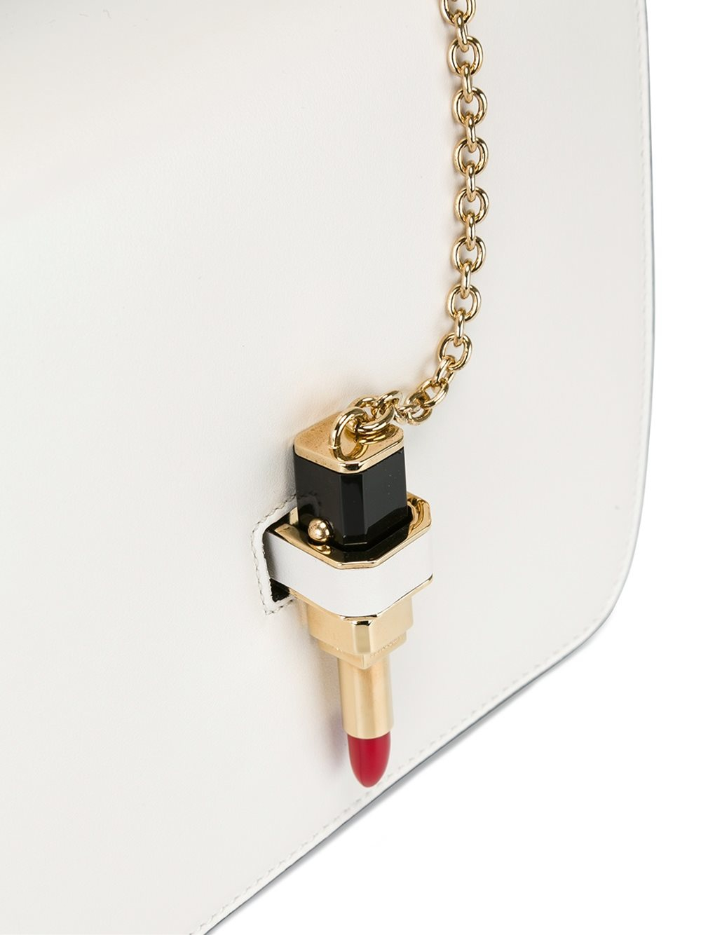 Giancarlo Petriglia Leather Mini 'queen' Tote in Natural