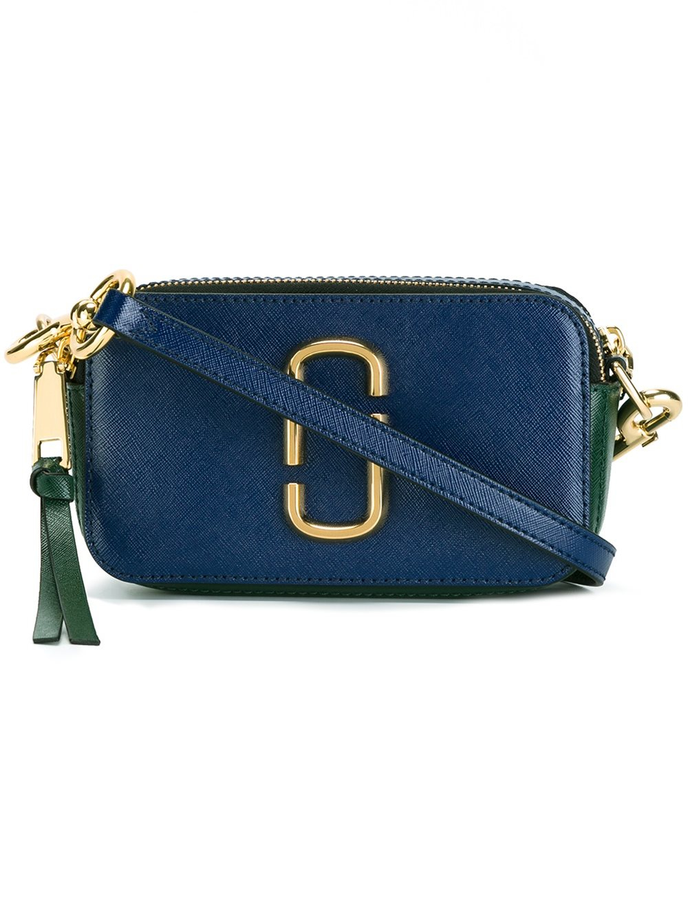 Marc Jacobs Leather Snapshot Camera Crossbody Bag In