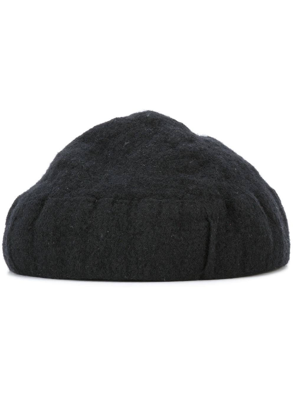cedric jacquemyn shrink cap in black for lyst