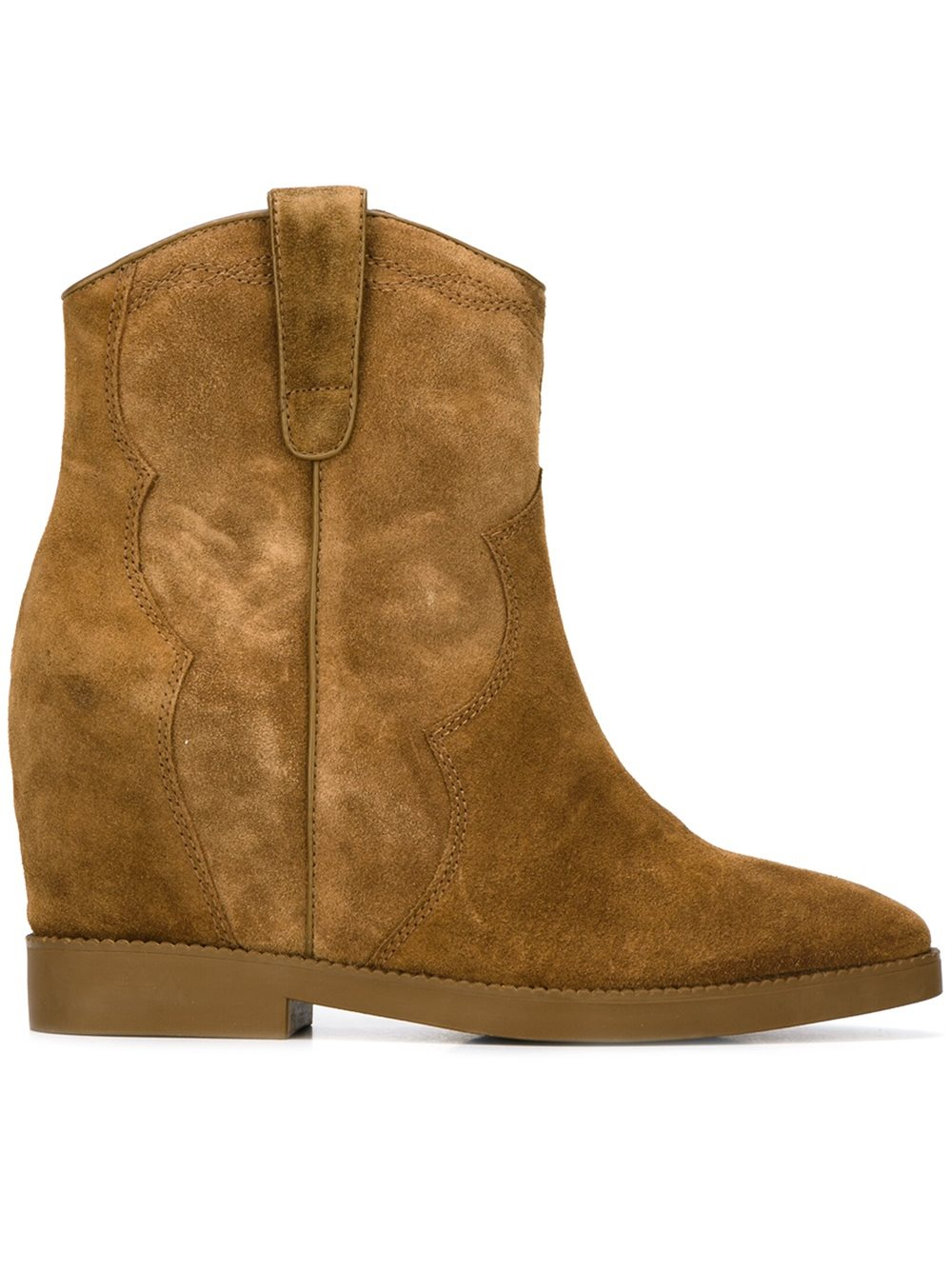 Lyst Ash Gwen Russet Boots In Brown