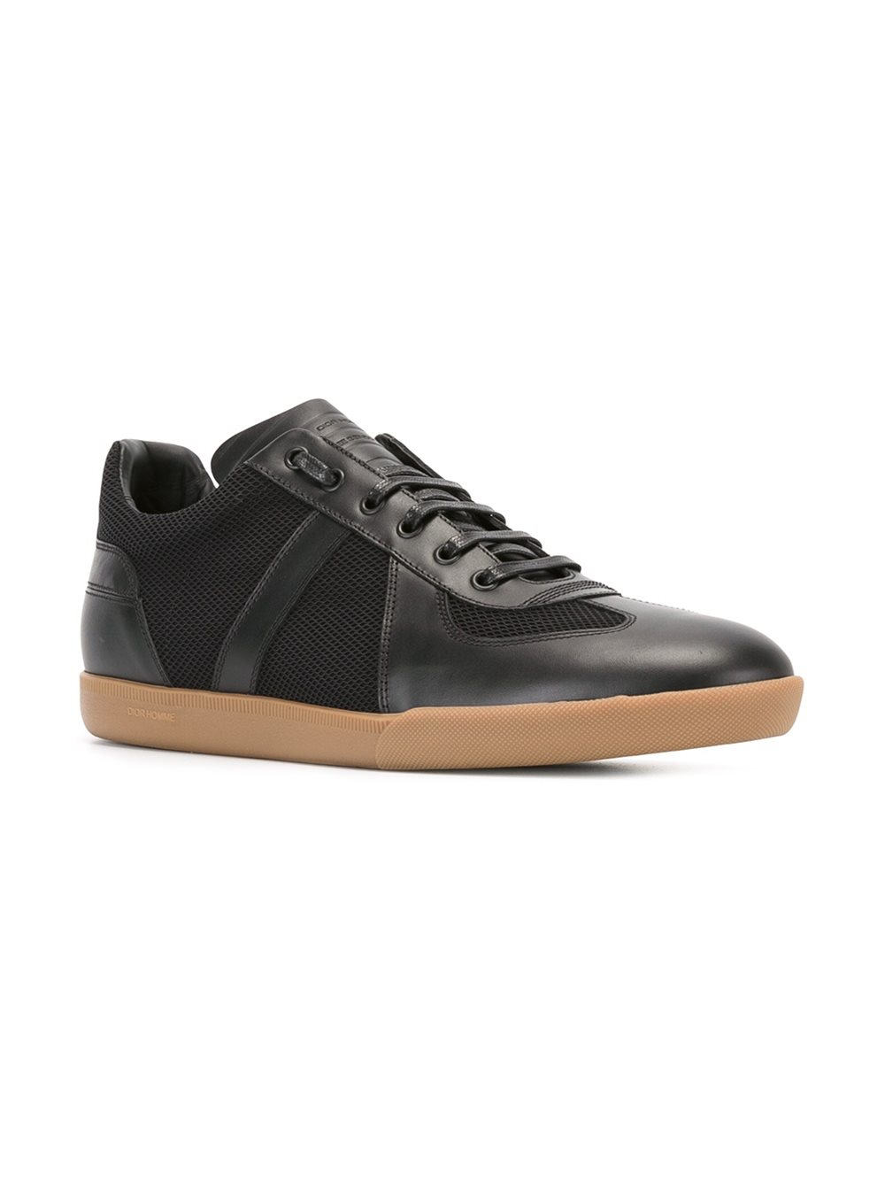 Lyst Dior Homme Textured Panelled Sneakers In Black For Men