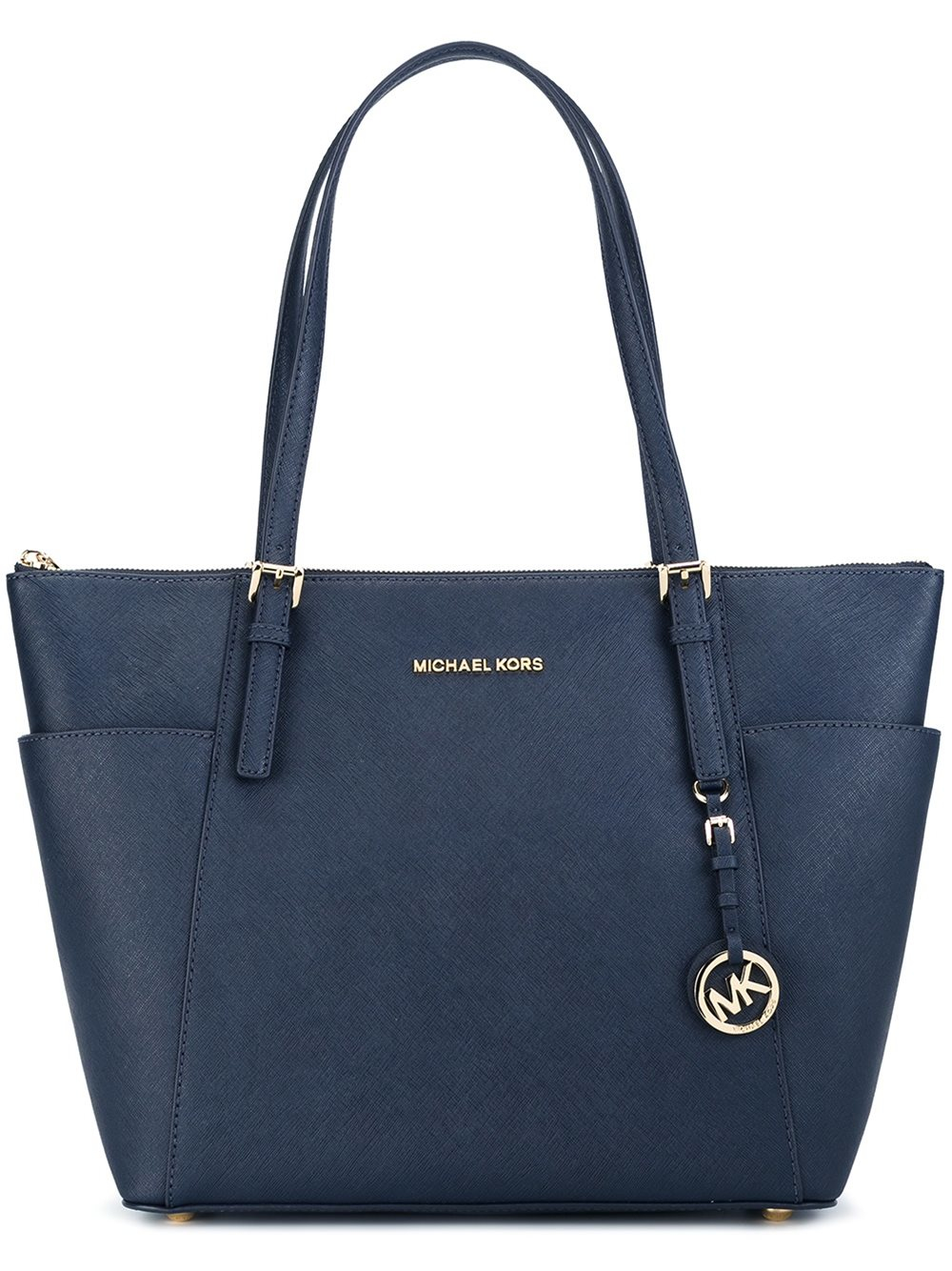 michael michael kors shopper tote in multicolor blue lyst. Black Bedroom Furniture Sets. Home Design Ideas