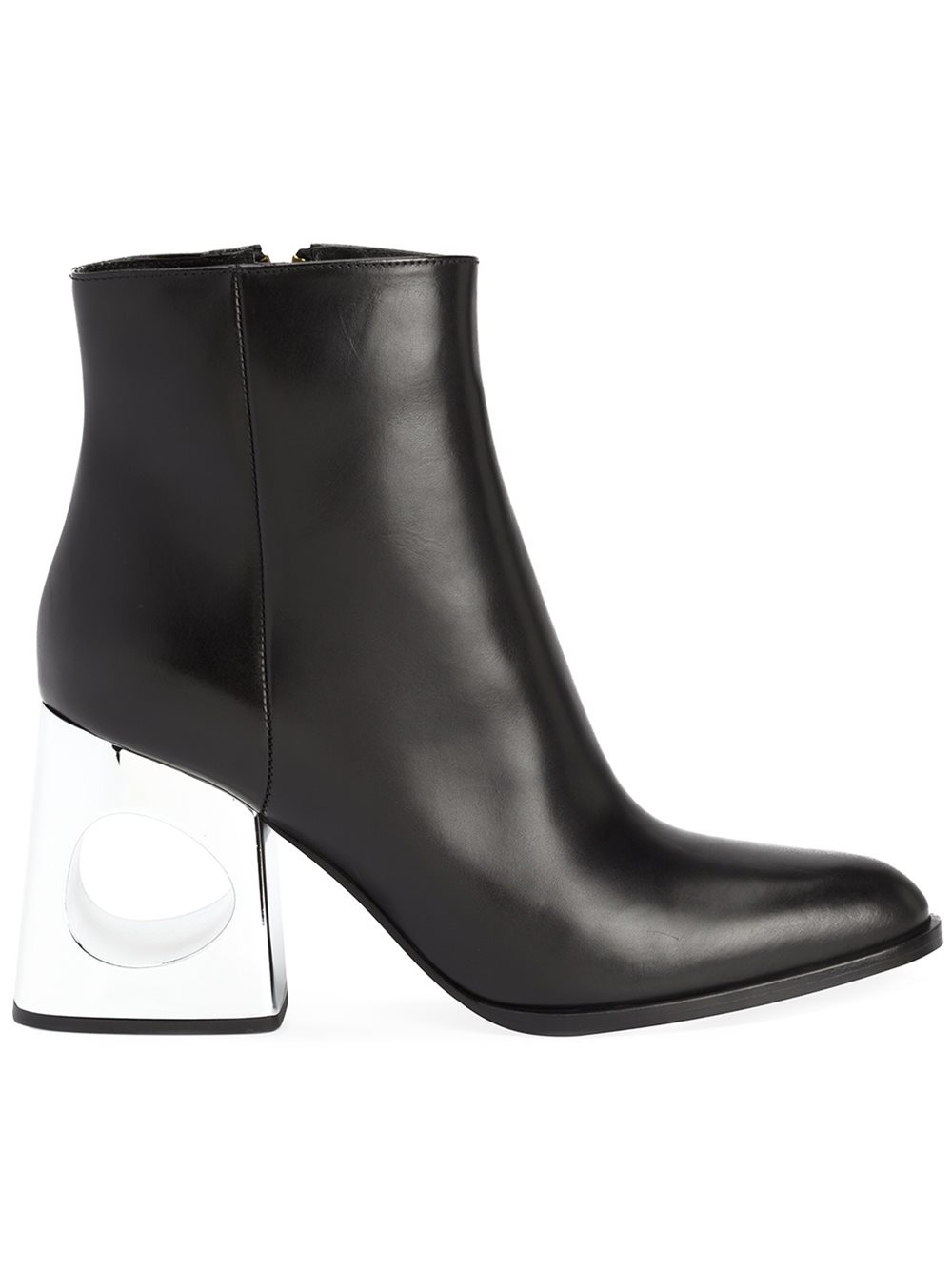 marni cut out heel boots in black lyst