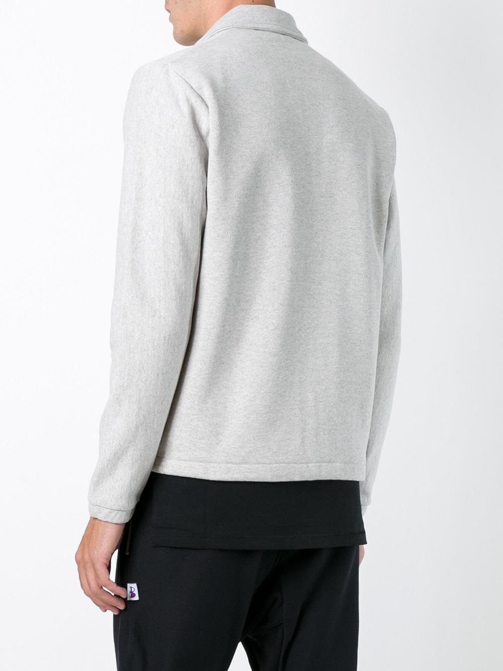 Champion Cotton X Beams Sport Jacket In Grey Gray For