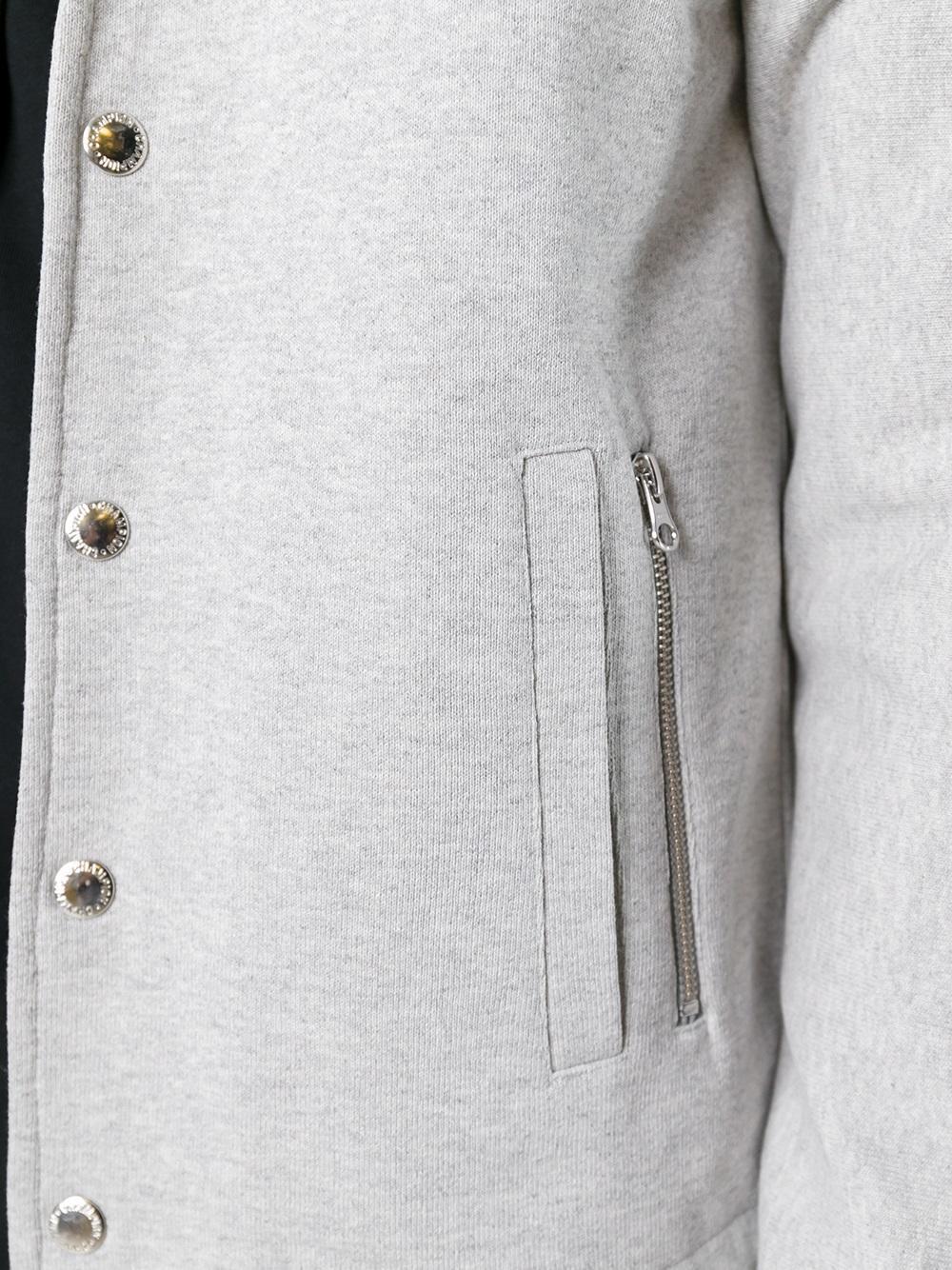Champion Cotton ' X Beams' Sport Jacket in Grey (Grey) for Men