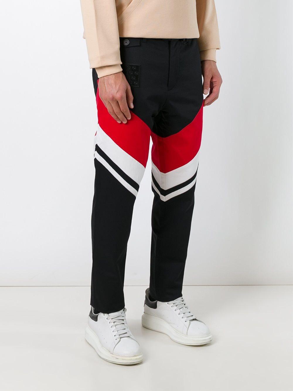KTZ - Striped Trousers - Men - Cotton - S in Black for Men