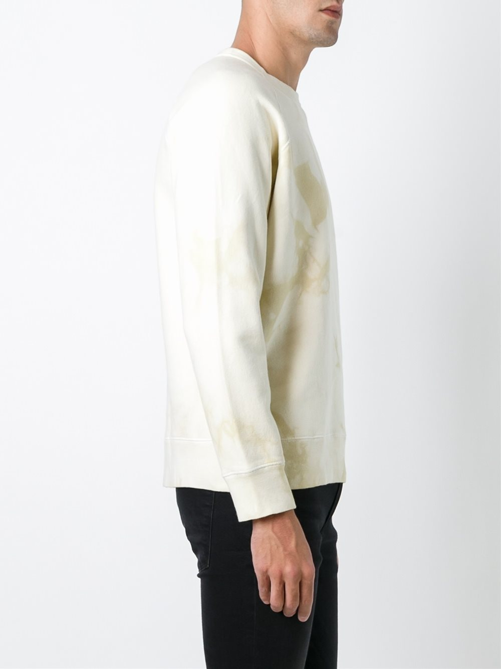 Our Legacy Cotton 50's Great Sweat In Nicotine Loop for Men
