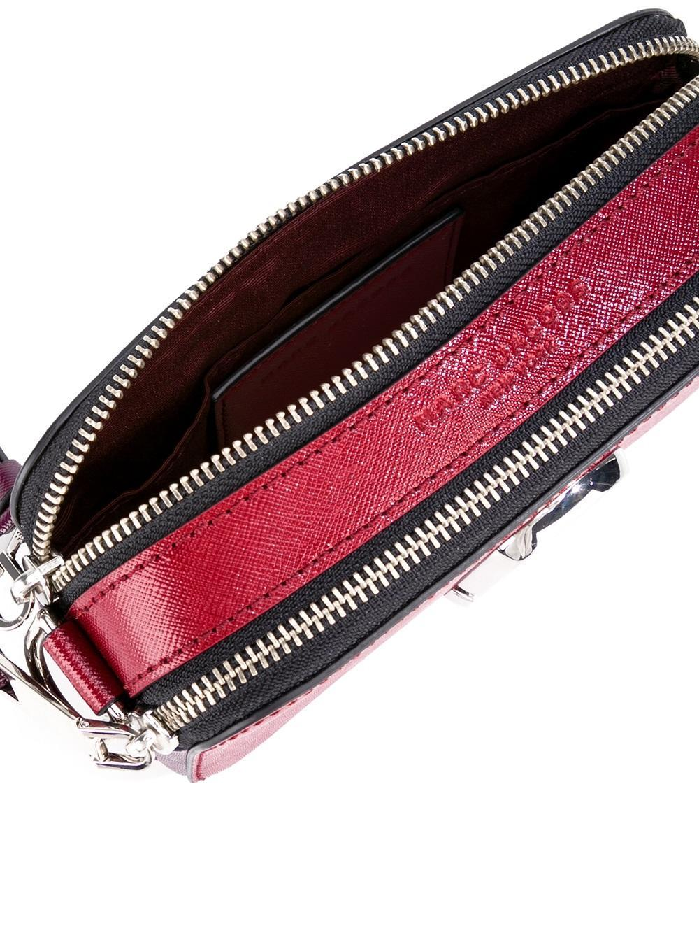 Marc Jacobs Leather 'snapshot' Camera Crossbody Bag in Red