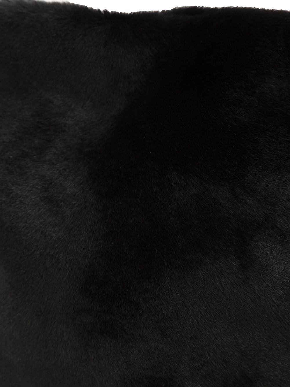 Ann Demeulemeester Nebula Small Leather Bag in Black