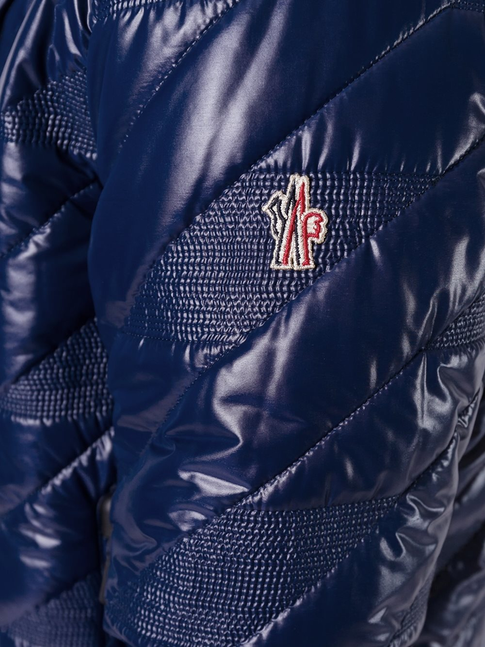 3 MONCLER GRENOBLE Synthetic 'bramans' Jacket in Blue for Men