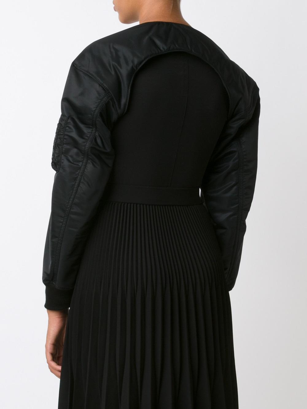 Comme des Garçons Comme Des Garçons Noir Kei Ninomiya Bomber-style Sleeves in Black
