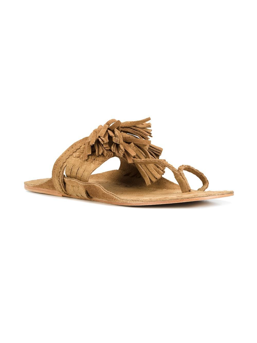Lyst Figue Scaramouche Sandals In Brown