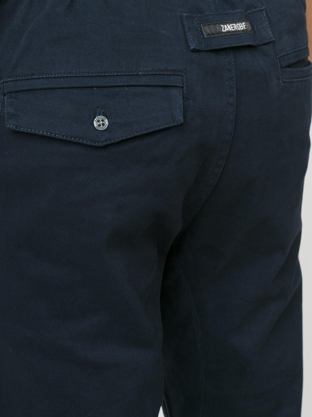 Zanerobe Cotton 'sureshot' Jogging Trousers in Blue for Men
