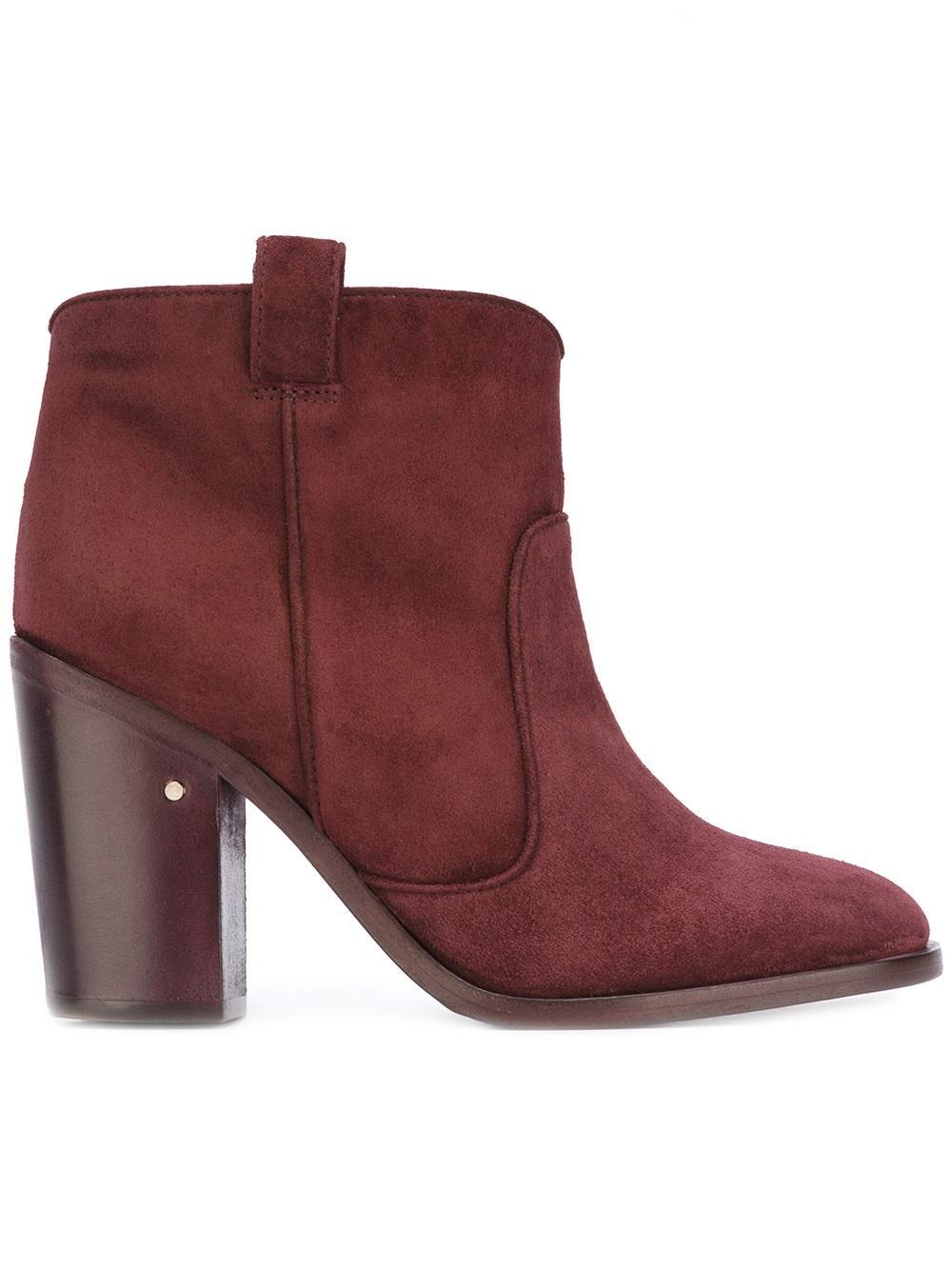laurence dacade pete suede ankle boots in purple lyst