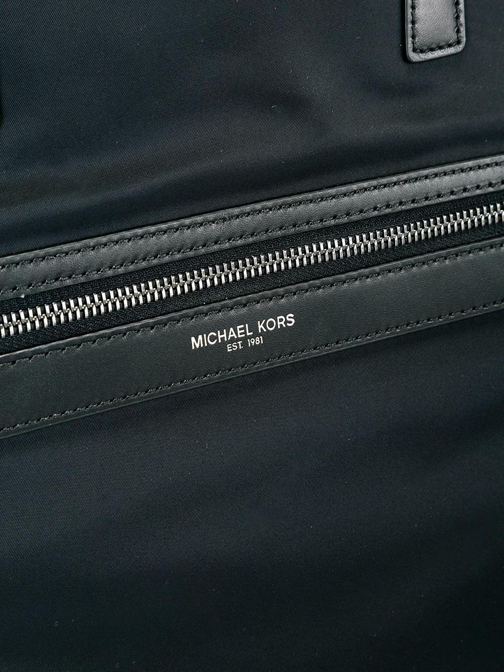MICHAEL Michael Kors Synthetic 'kent' Reversible Tote in Black for Men