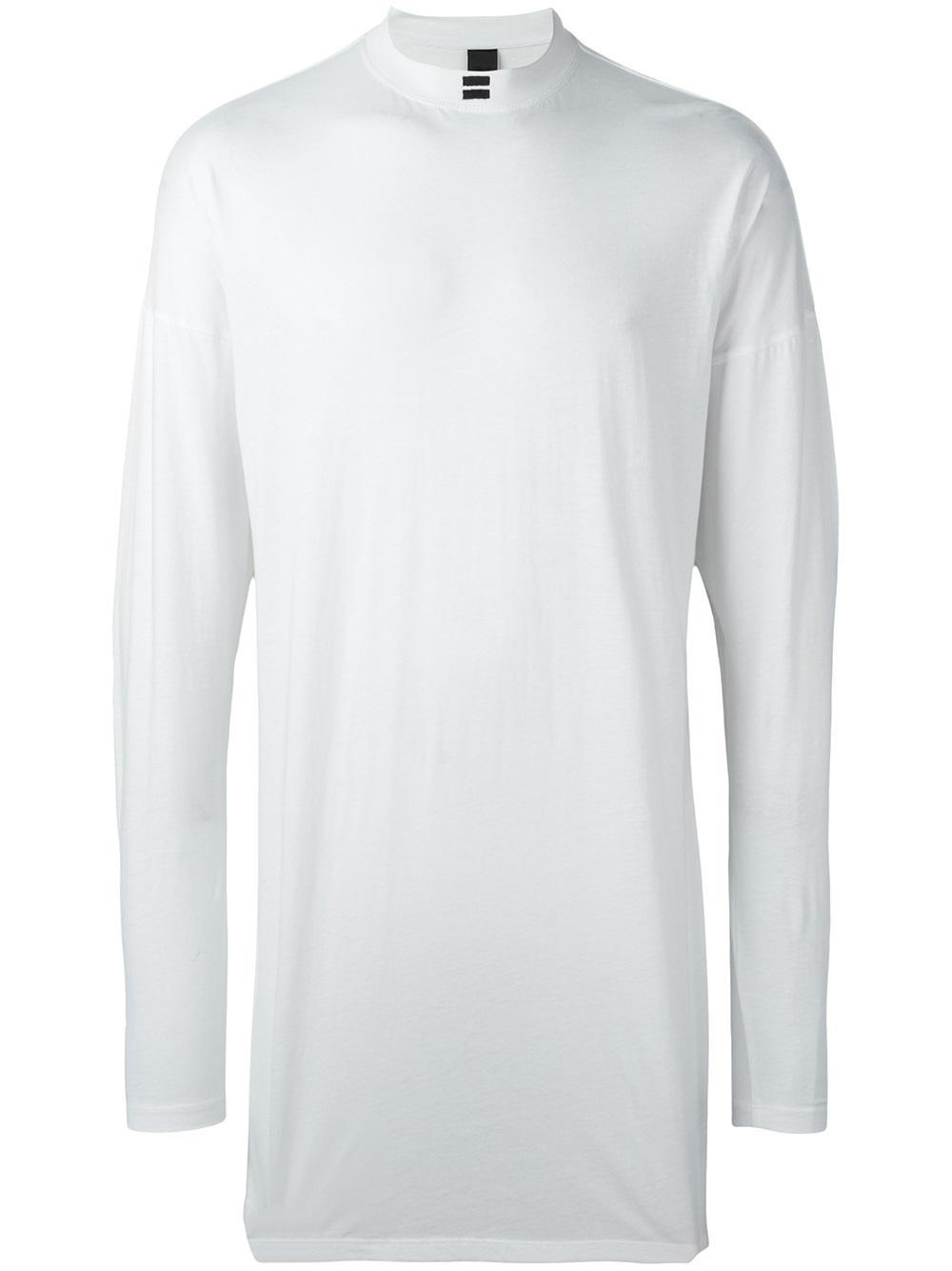 Odeur 39 Graphic 39 Long Sleeve T Shirt In White For Men Lyst