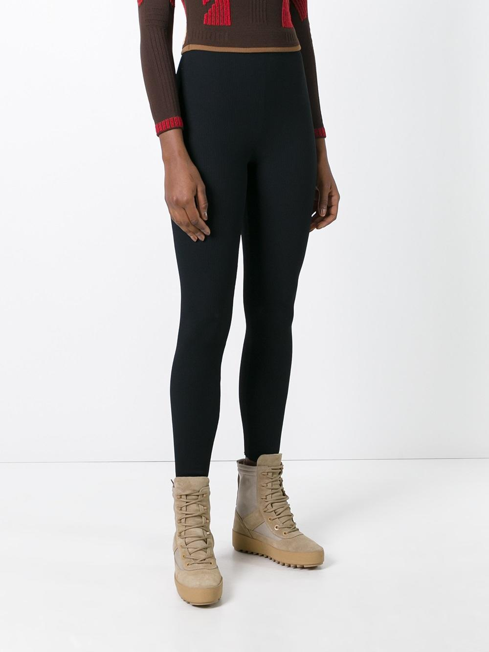 Yeezy Season 3 Leggings in Black