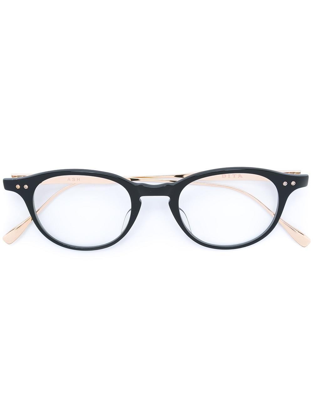 aa8b9282af8 Dita Eyewear  ash  Glasses in Black - Lyst