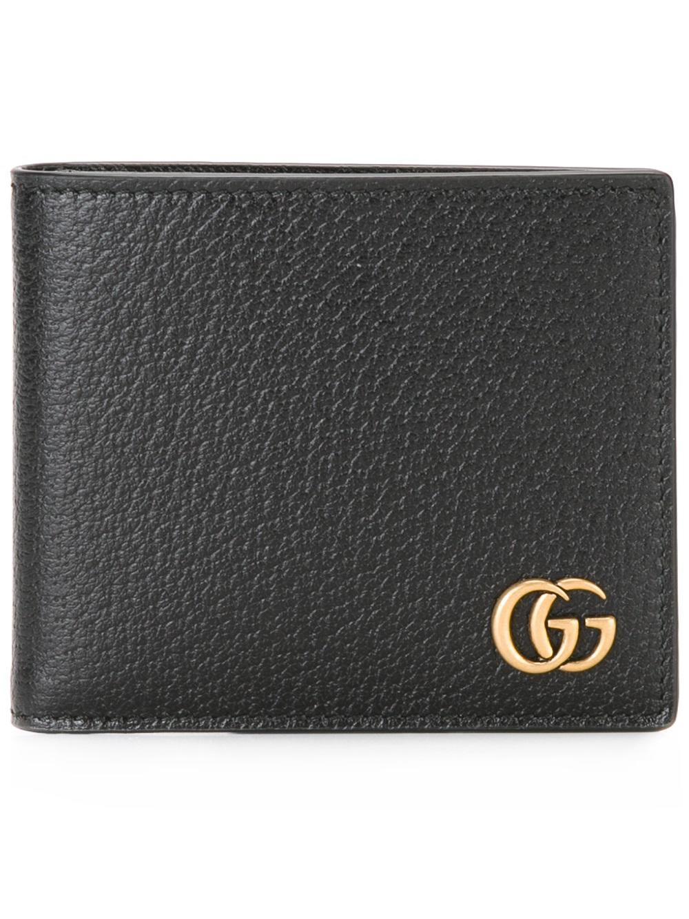 Gucci Gg Marmont Billfold Wallet In Black For Men Lyst