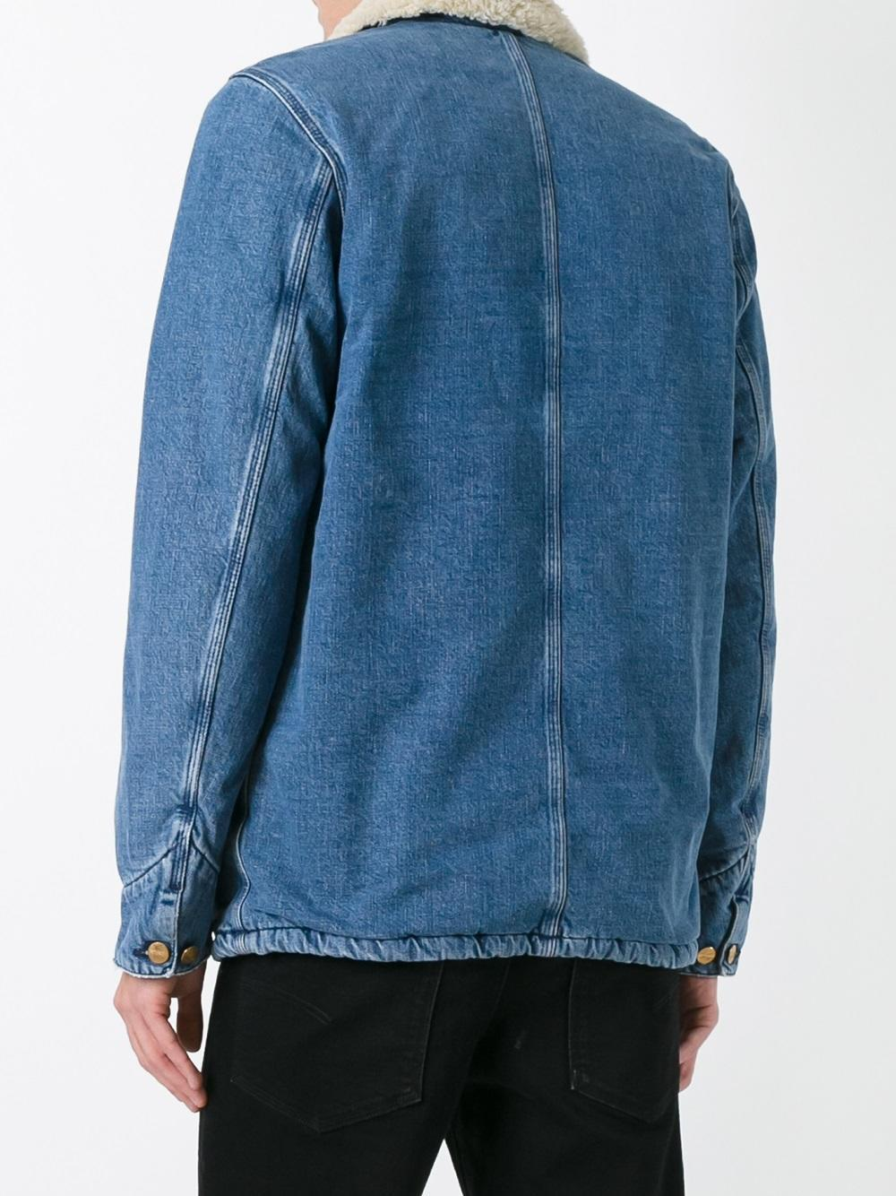 Carhartt Phoenix Denim Jacket In Blue For Men Lyst