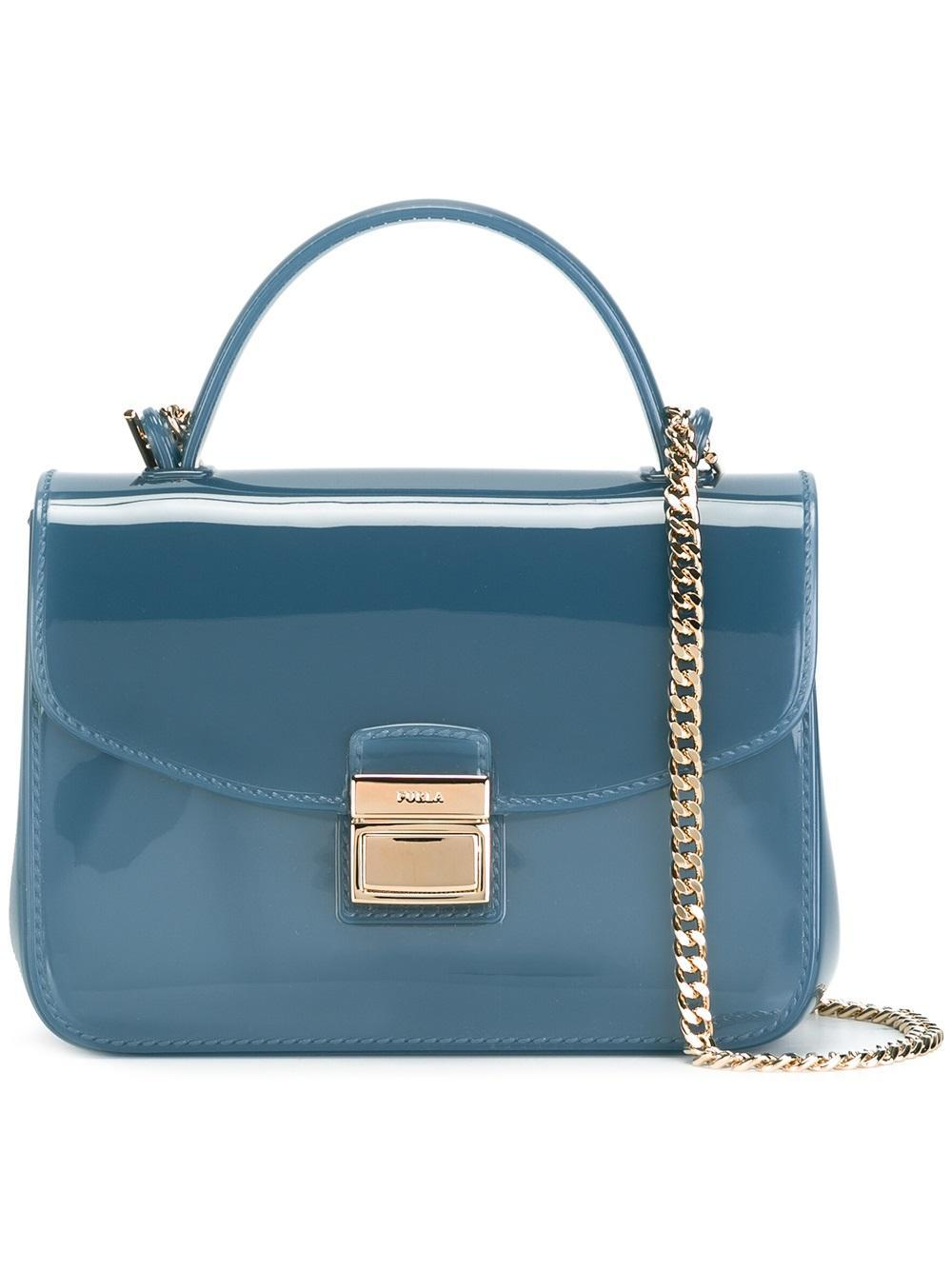 Furla Mini Candy Sugar Crossbody Bag in Blue | Lyst