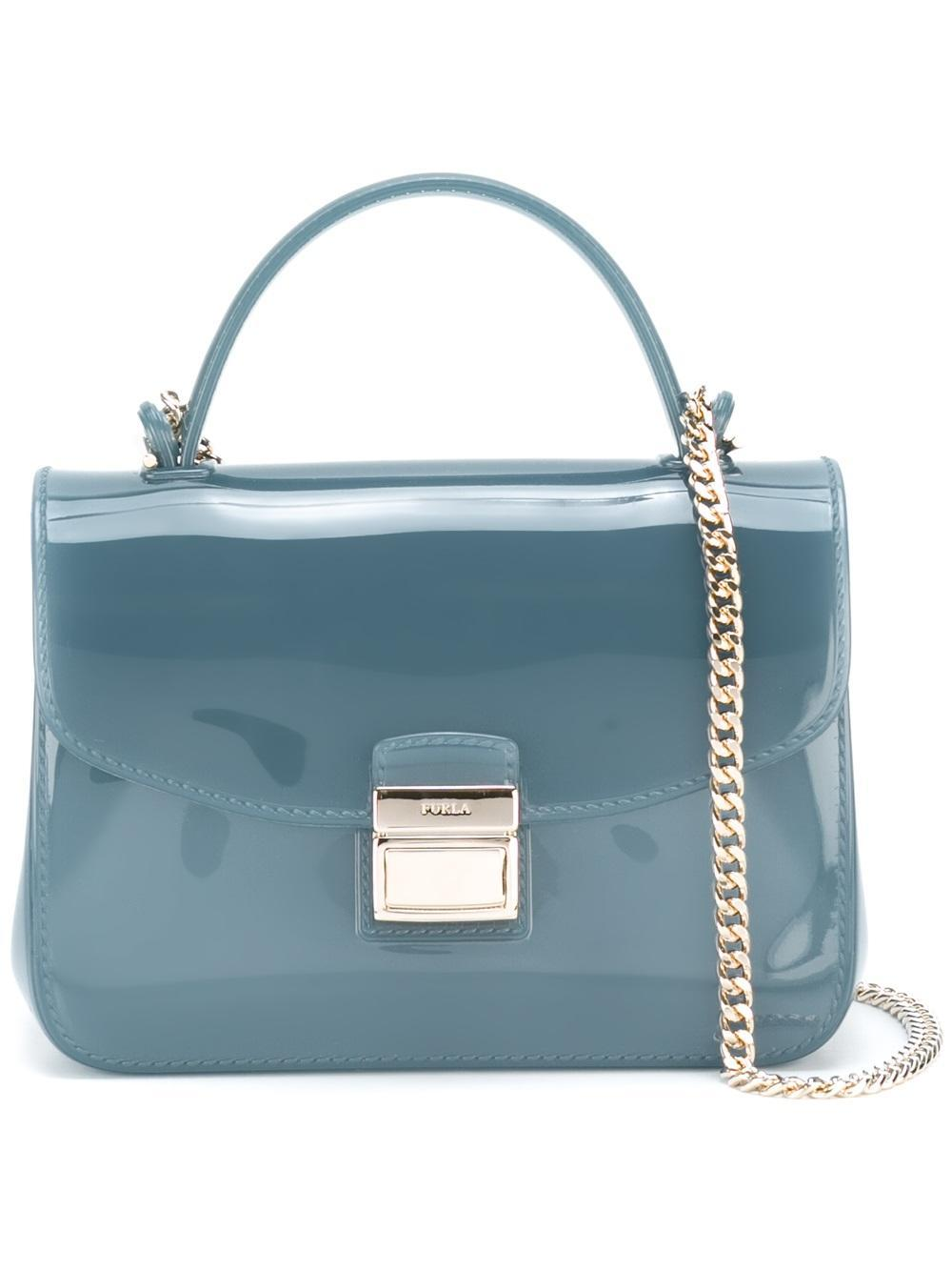 Lyst - Furla Mini Candy Sugar Crossbody Bag in Blue