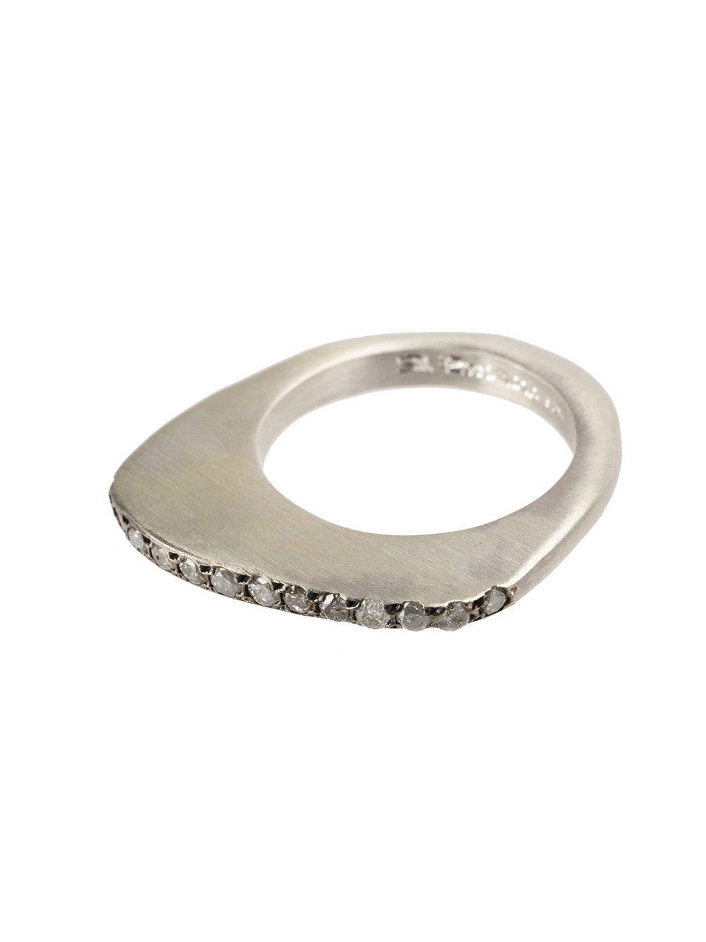 Rosa Maria Studded Ring in Metallic