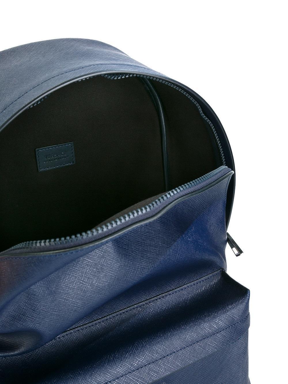 Versace Medusa Backpack In Blue For Men Lyst