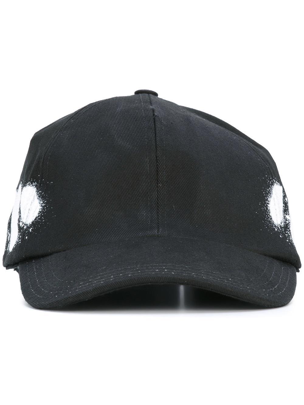 Lyst Off White C O Virgil Abloh Diag Spray Cap In Black