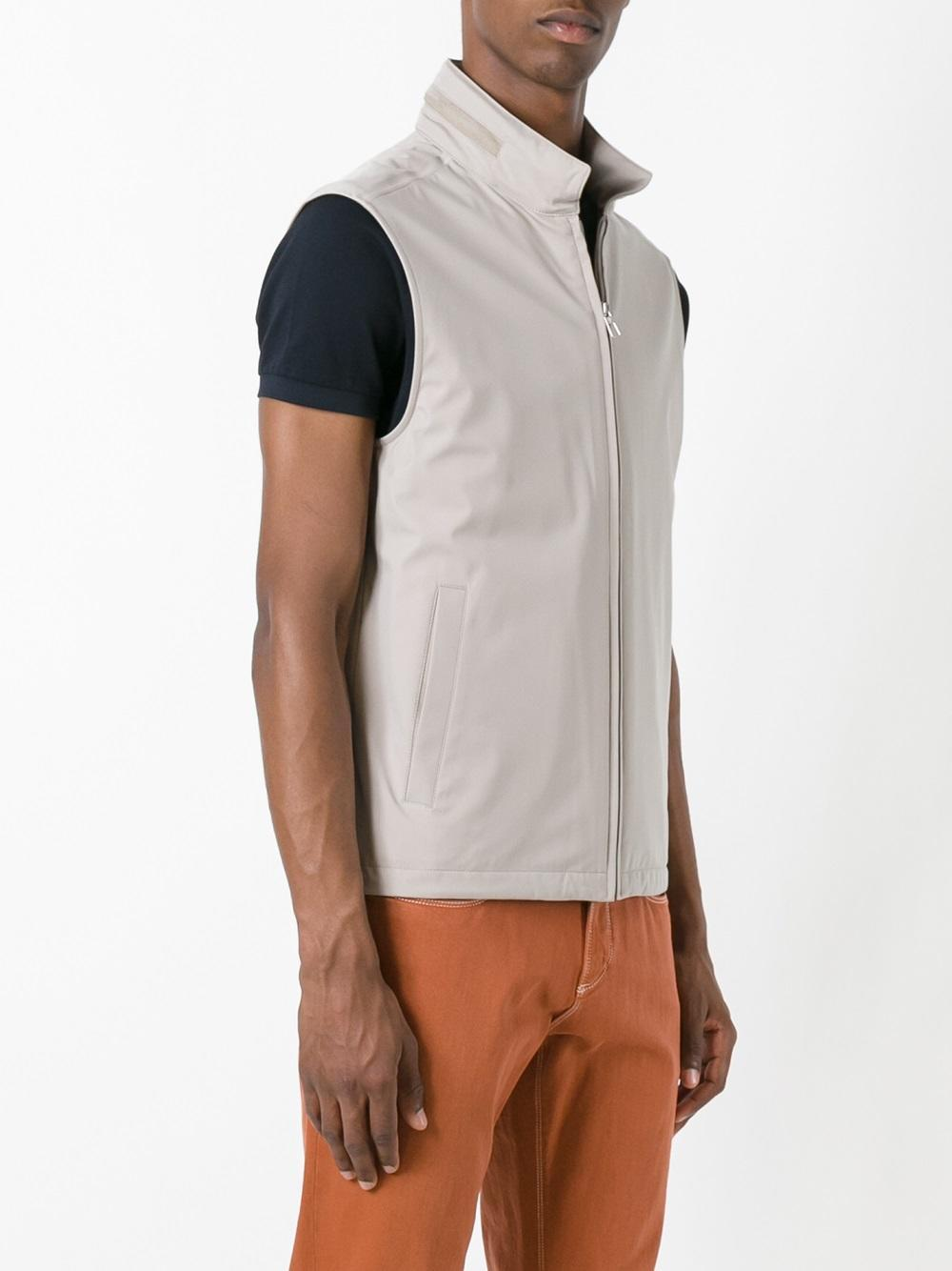 Loro Piana Synthetic Bandon Vest for Men