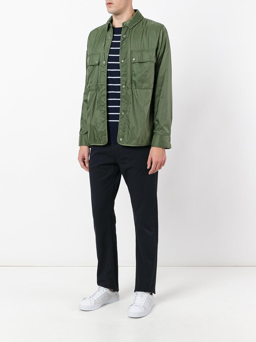Sempach Cotton 'maske Ripstop' Worker Jacket in Green for Men