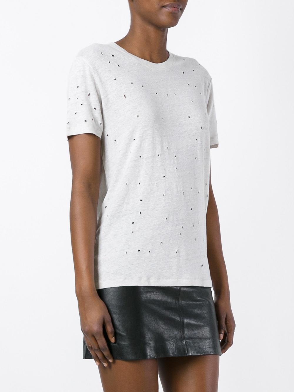 Lyst - Iro Clay T-shirt in White