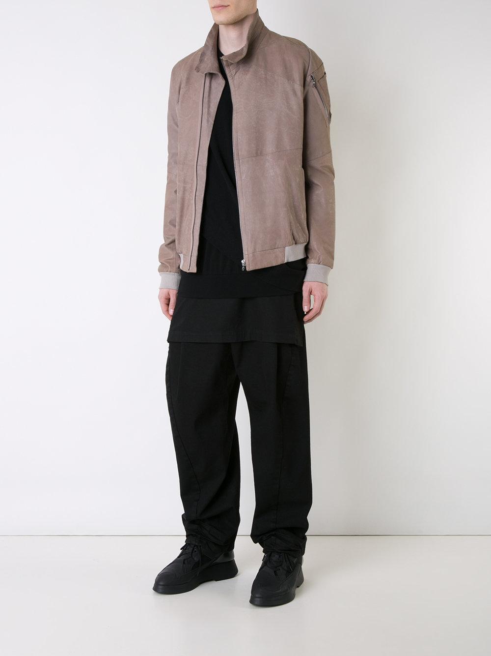 Julius Denim Flap Detail Jeans in Black for Men