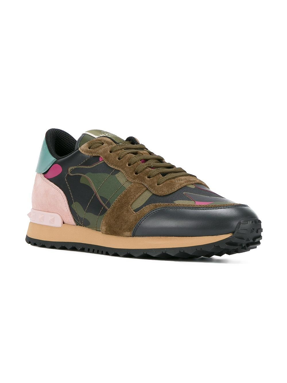 Lyst - Valentino Garavani Rockrunner Sneakers