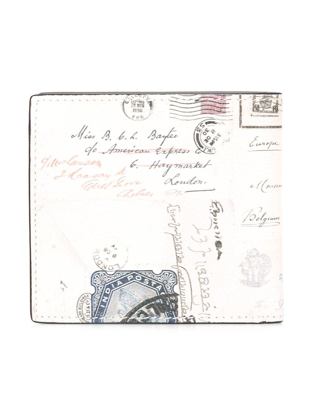 lyst alexander mcqueen letters from india wallet in With alexander mcqueen letters from india wallet